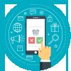 mobile app - اپلیکیشن موبایل